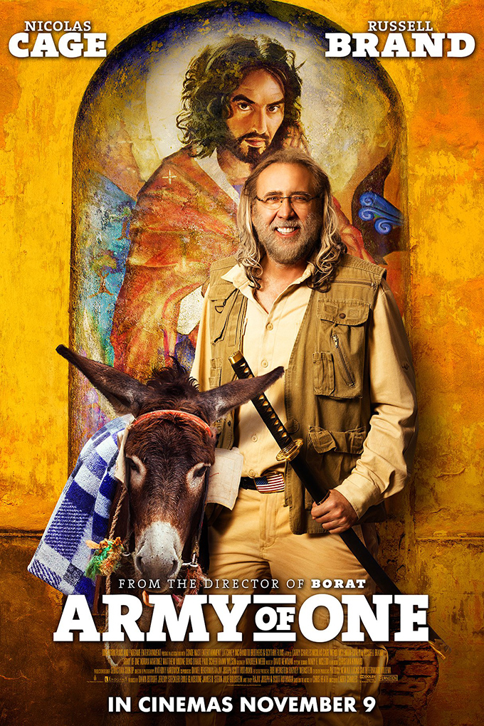 Army of One [2016 USA Movie] Comedy