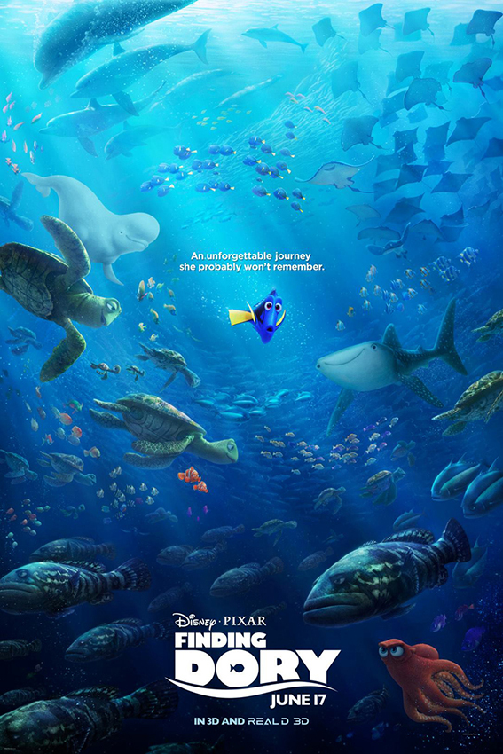 Finding Dory [2016 USA Cartoon Movie] Family, Cartoon