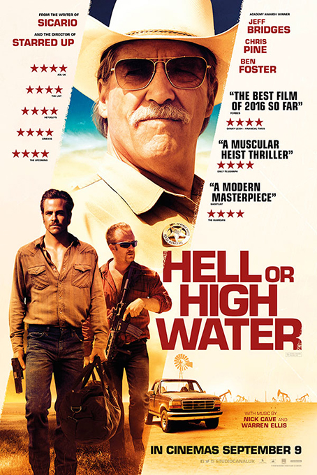 Hell or High Water [2016 USA Movie] Crime, Drama, Western