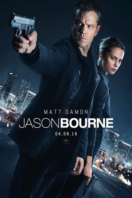 Jason Bourne [2016 USA, UK & China Movie Action, Thriller]
