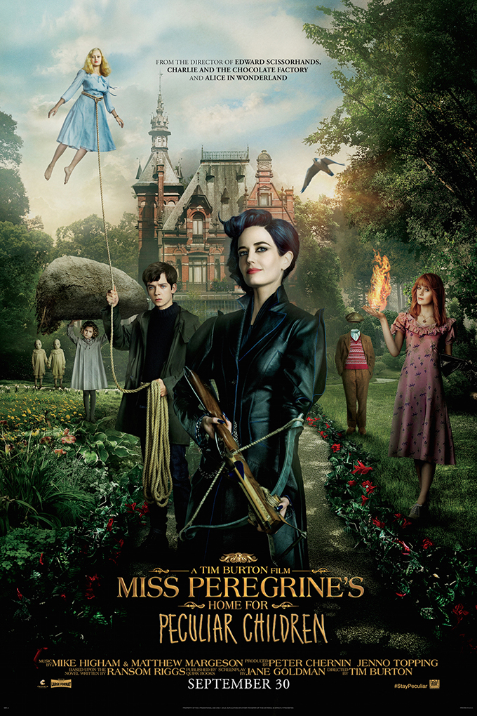 Miss Peregrine's Home for Peculiar Children [2016 USA,UK & Belgium Movie] Adventure, Drama, Family, Fantasy