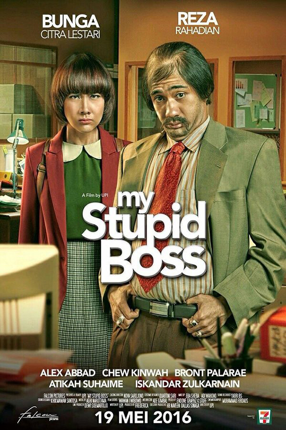 My Stupid Boss [2016 Malaysia & Indonesia Movie] Comedy, Romance