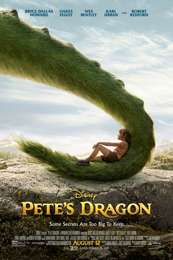 Pete's Dragon [2016 USA Movie] Adventure, Family, Fantasy