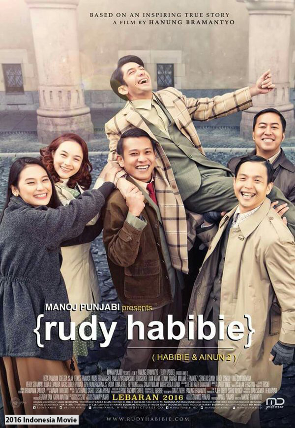 Rudy Habibie  aka. Habibie & Ainun 2 [2016 Indonesia Movie] Drama