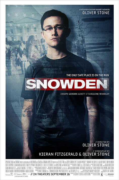 Snowden [2016 USA Movie] Drama, Thriller, Biography, True Story