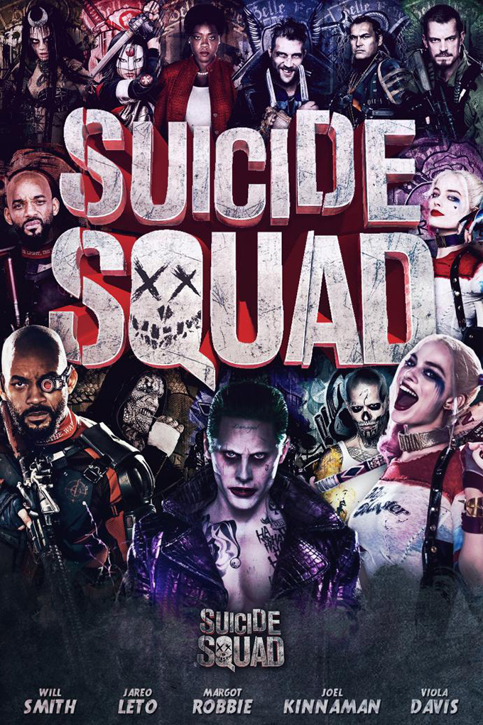 Suicide Squad [2016 USA Movie] Action, Adventure, Sci Fi, Fantasy
