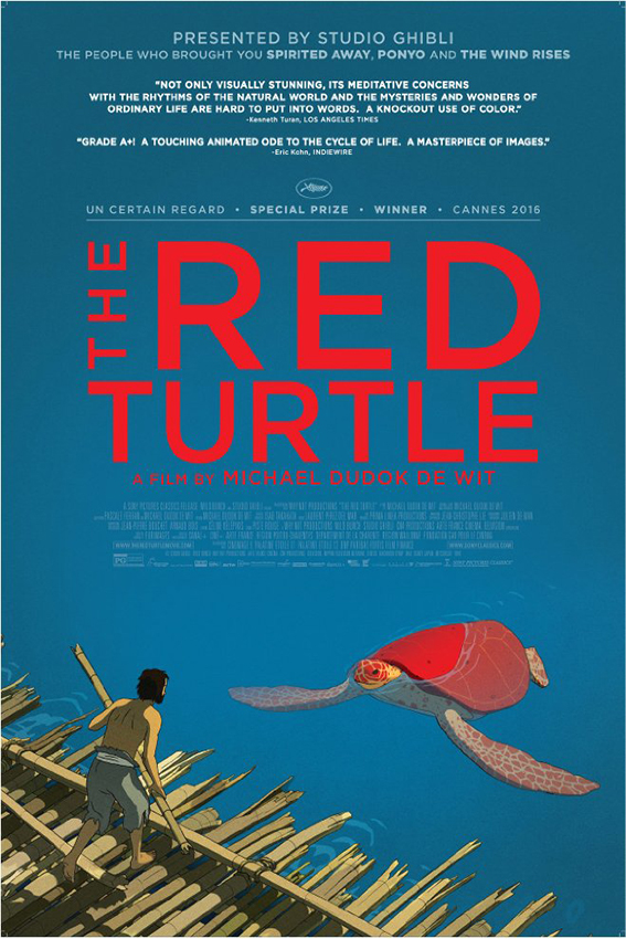 The Red Turtle [2016 France & Belgium Movie] Animation, Fantasy