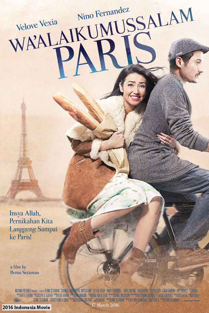 Waalaikumussalam Paris [2016 Indonesia Movie] Drama, Comedy