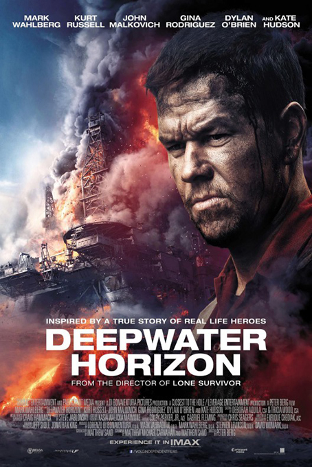 Deepwater Horizon [2016 USA Movie] Action, Drama, Thriller, True Story