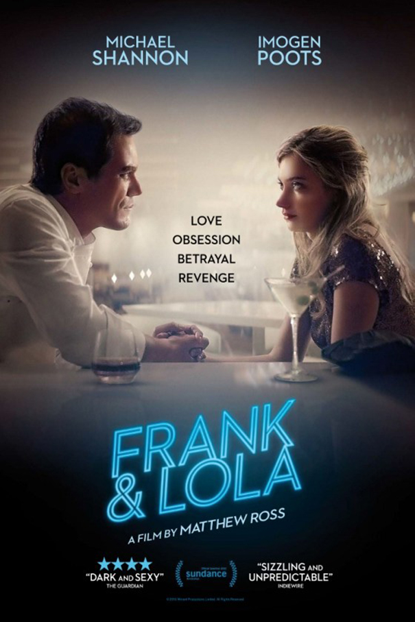 Frank and Lola [2016 USA Movie] Crime, Drama, Mystery, Romance, Thriller