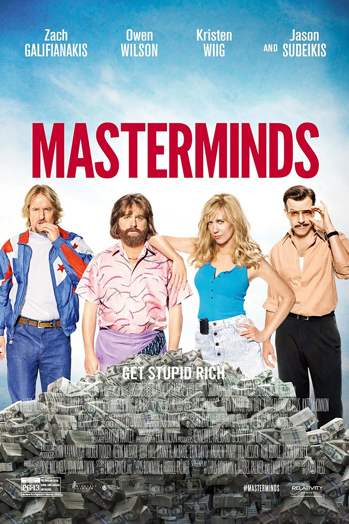 Masterminds [2016 USA Movie] Action, Comedy, Crime