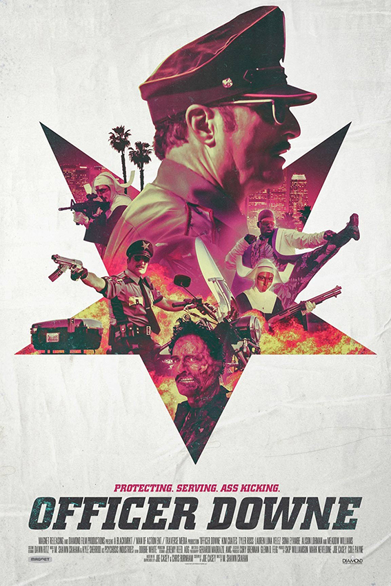 Officer Downe [2016 USA Movie] Action, Comedy