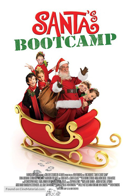 Santa's Bootcamp [2016 USA Movie] Adventure, Comedy, Family
