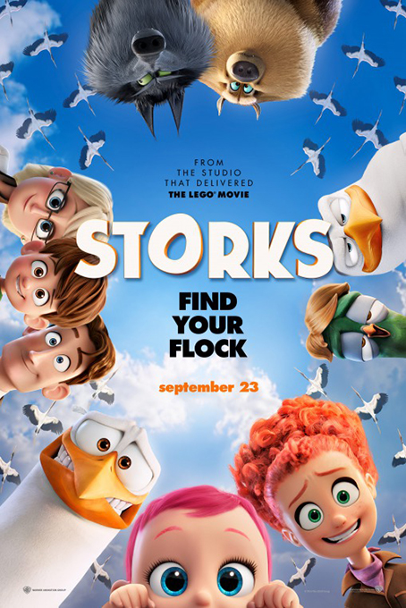 Storks [2016 USA Movie] Family, Animation