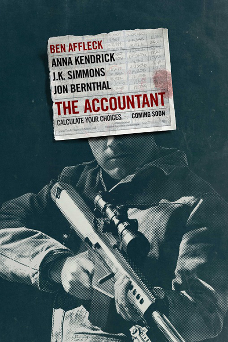 The Accountant [2016 USA Movie] Action, Crime, Drama