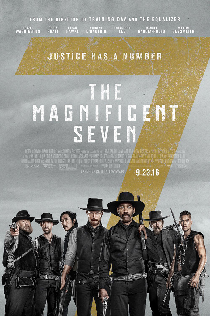 The Magnificent Seven [2016 USA Movie] Action, Adventure, Western