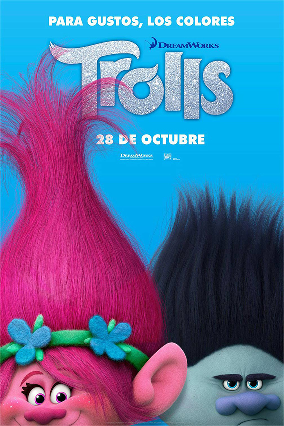 Trolls  [2016 USA Movie] Animation, Family