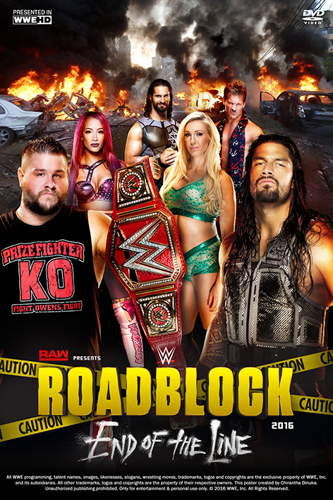 WWE Roadblock End of the Line 2016 [2016 USA Show] Sport