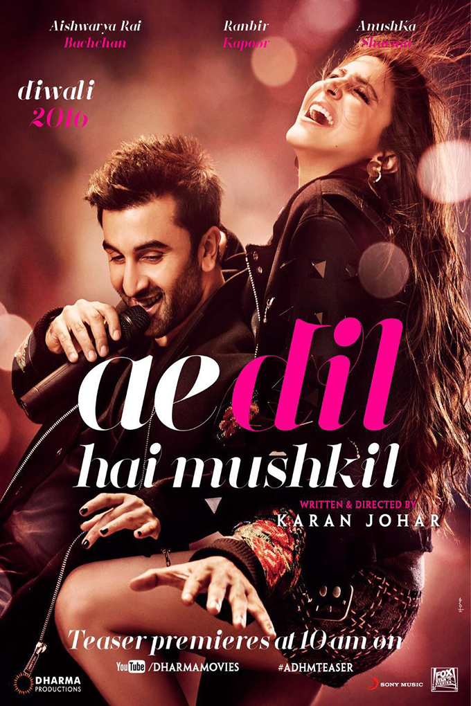 Ae Dil Hai Mushkil [2016 India Movie] Drama, Musical, Romance