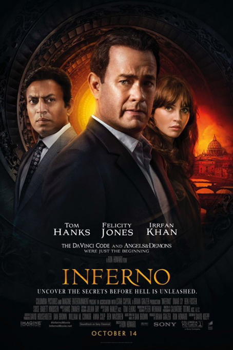 Inferno [2016 USA Movie] Action, Adventure, Crime, Mystery, Thriller