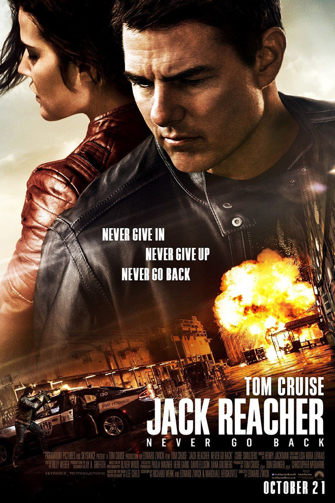 Jack Reacher Never Go Back [2016 USA & China Movie] Action, Adventure, Crime