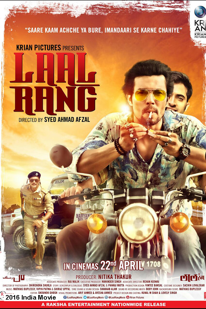 Laal Rang [2016 India Movie] Action, Crime, Drama