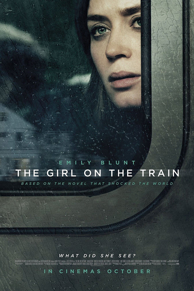 The Girl on the Train  [2016 USA Movie] Drama, Mystery, Thriller
