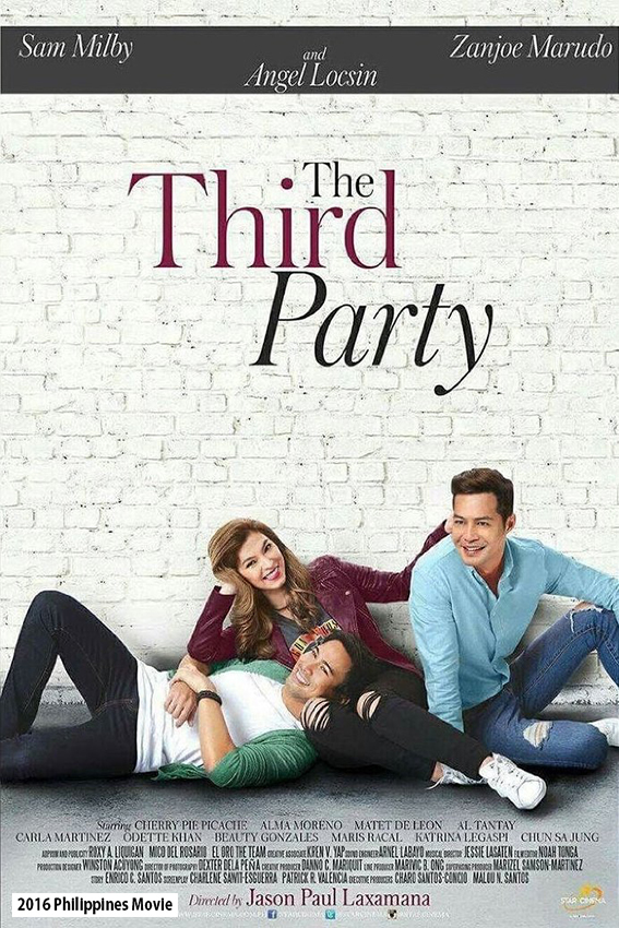 The Third Party [2016 Philippines Movie] Romance, Comedy