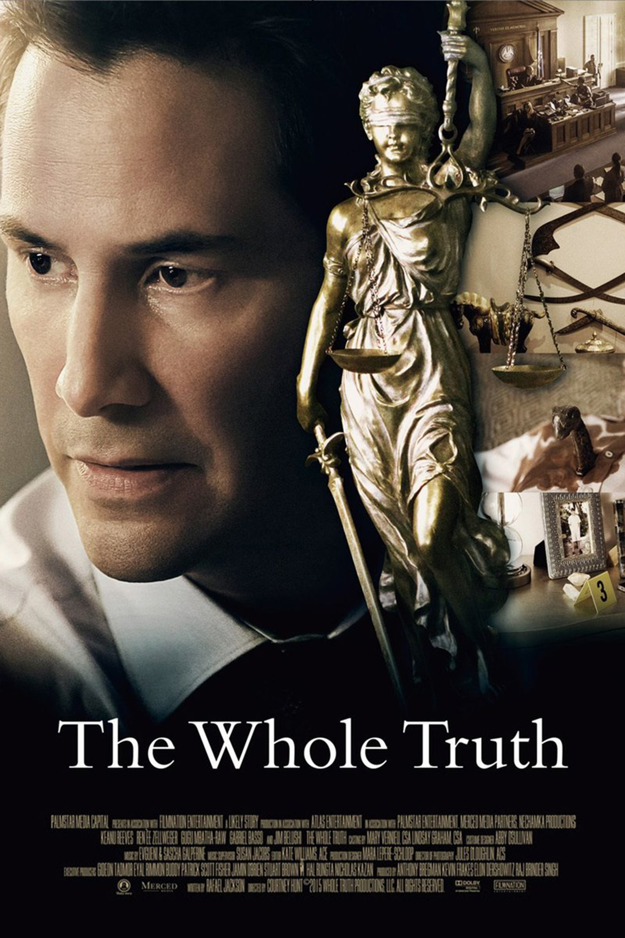 The Whole Truth [2016 USA Movie] Drama, Thriller