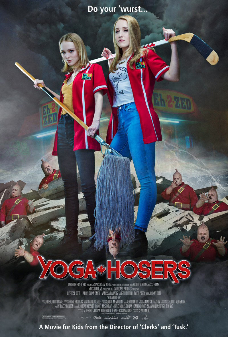 Yoga Hosers [2016 USA Movie] Comedy, Fantasy, Horror