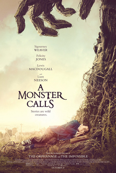 A Monster Calls [2016 USA Movie] Drama, Fantasy