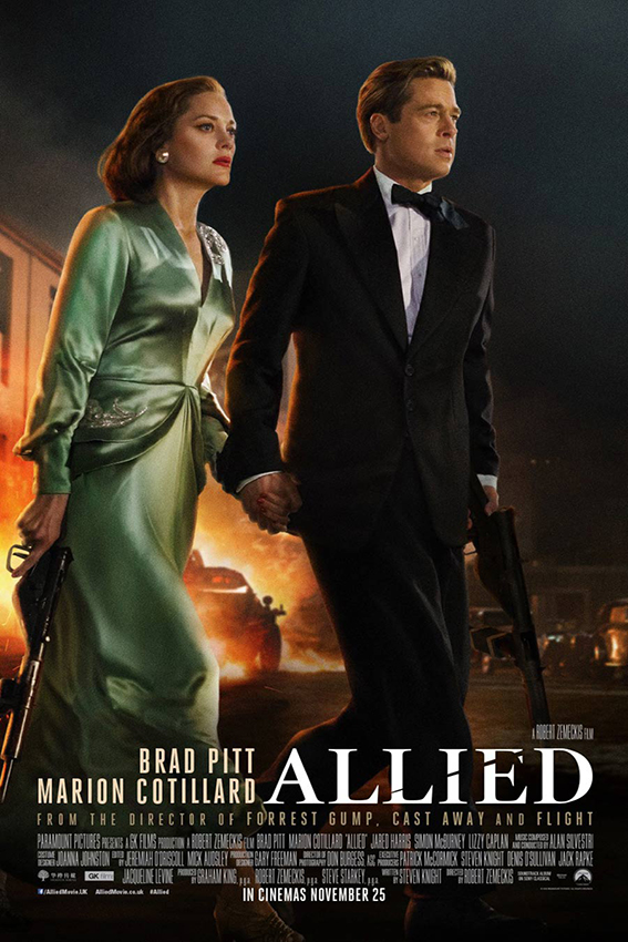 Allied [2016 USA Movie] Action, Drama, Romance