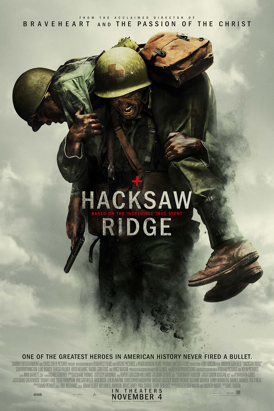 Hacksaw Ridge [2016 USA & Australia Movie] War, Drama, History, True Story