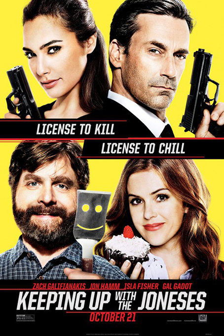 Keeping Up With The Joneses [2016 USA Movie] Action, Comedy