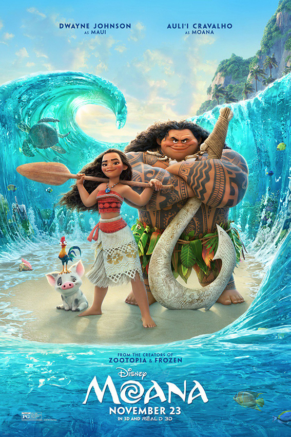 Moana [2016 USA Movie] Animation, Adventure, Comedy