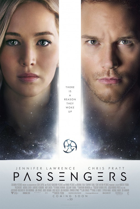 Passengers  [2016 USA Movie] Adventure, Drama, Romance