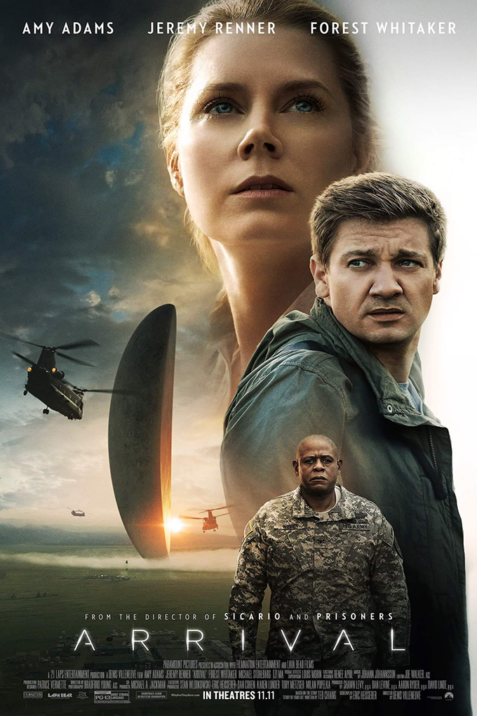 Arrival [2016 USA Movie] Drama, Mystery, Sci Fi, Thriller