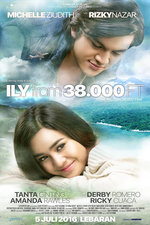 I Love You From 38000 Feet [2016 Indonesia Movie] Romance