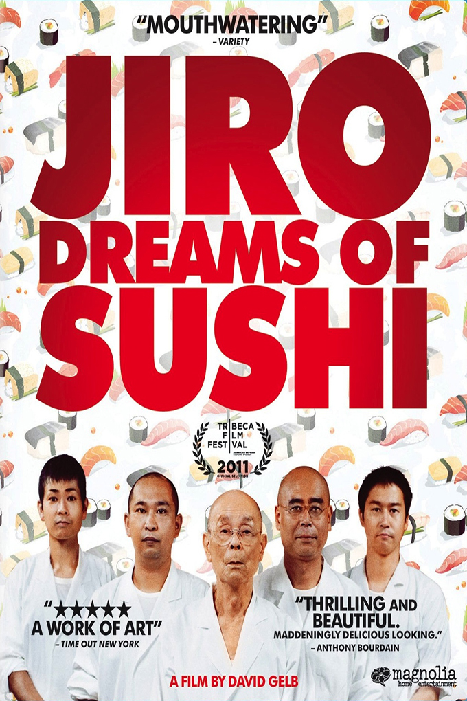 Jiro Dreams of Sushi [2011 Japan Movie] Documentary, Cooking