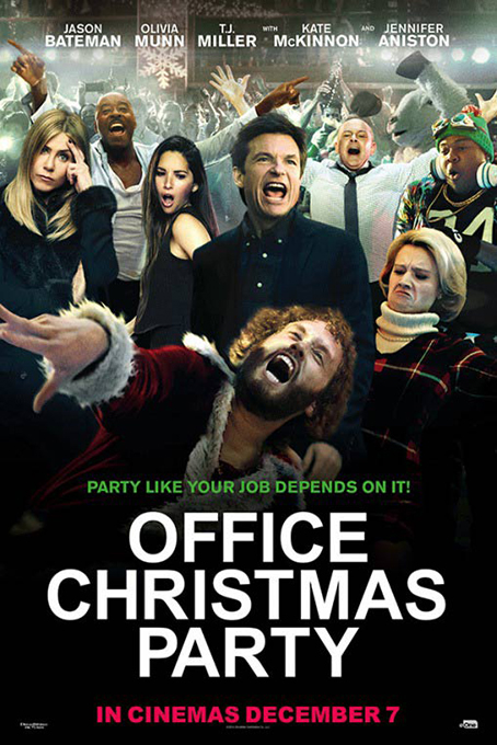 Office Christmas Party [2016 USA Movie] Comedy