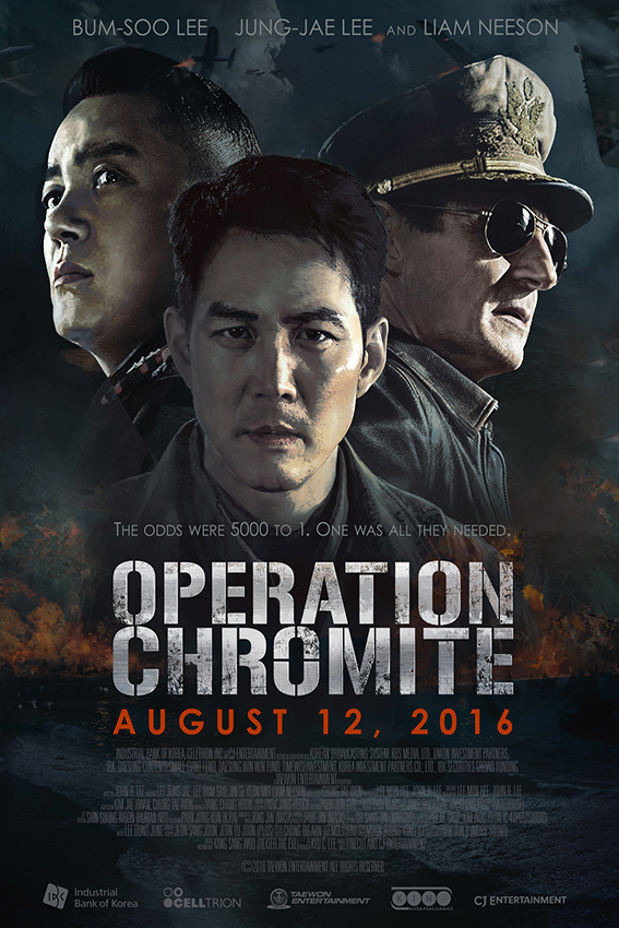 Operation Chromite [2016 Korea Movie] Action, Drama, History, War, True Story