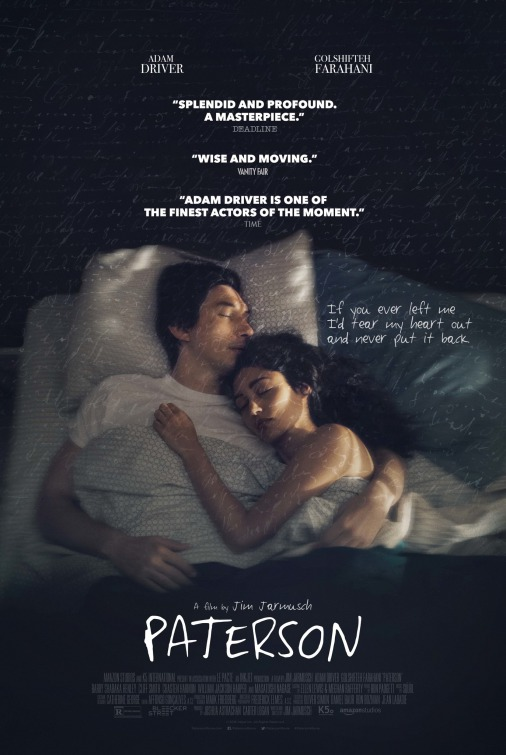 Paterson [2016 USA, France & Germany Movie] Comedy, Drama, Romance