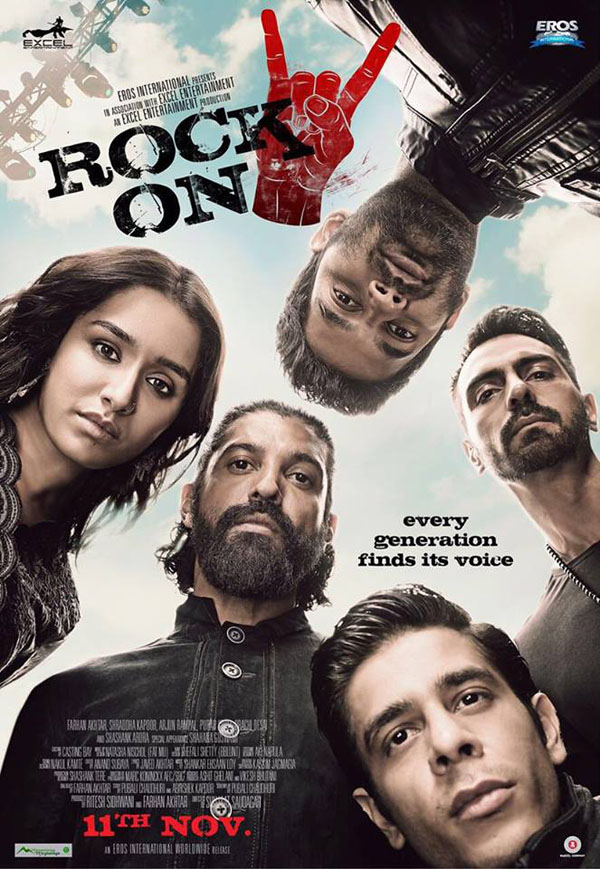 Rock On 2 [2016 India Movie] Drama, Musical