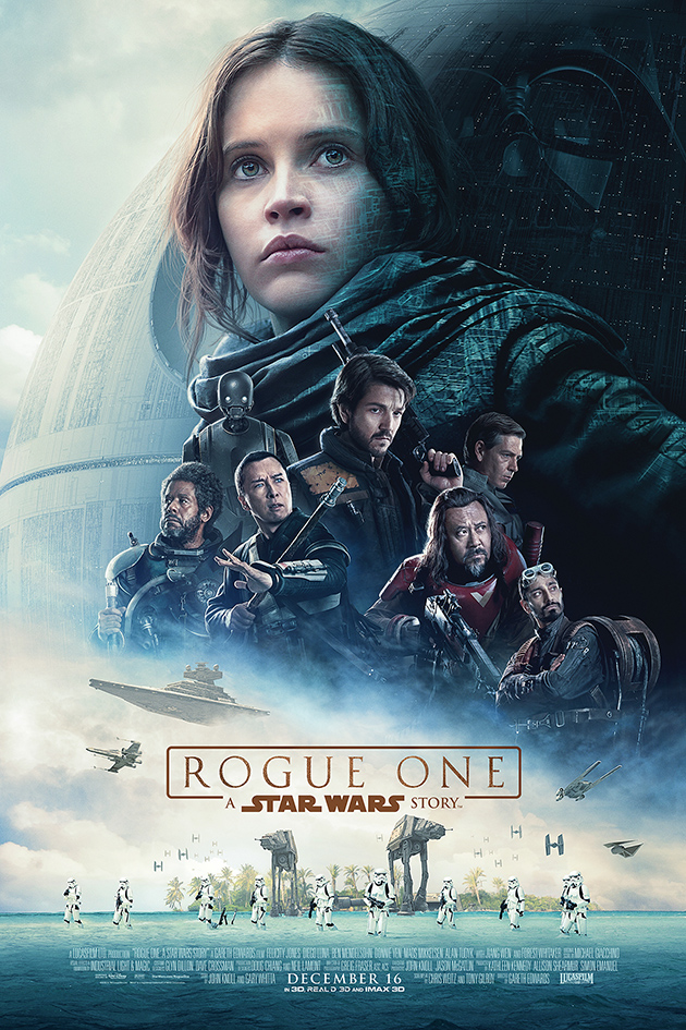Rogue One: A Star Wars Story [2016 USA Movie] Action, Adventure, Sci Fi