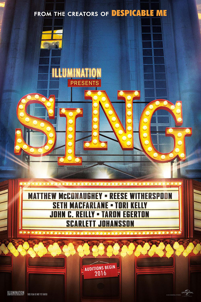 Sing [2016 USA Movie] Animation, Comedy, Family, Musical