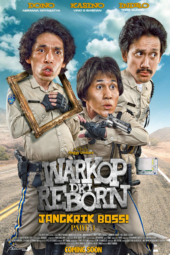 Warkop DKI Reborn Jangkrik Boss Part 1 [2016 Indonesia Movie] Comedy