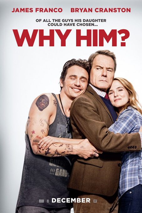 Why Him [2016 USA & Cambodia Movie] Comedy