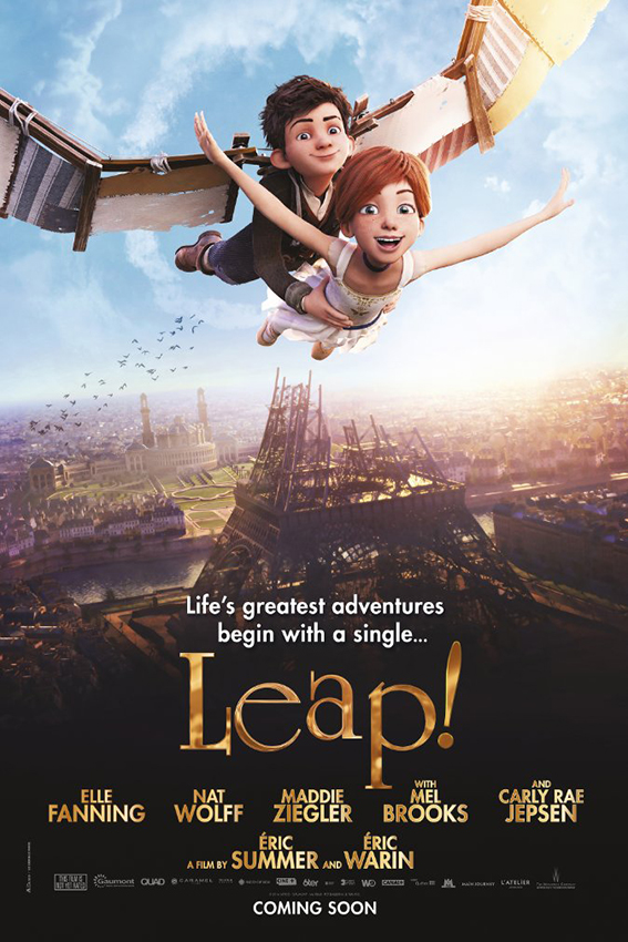 Leap! aka. Ballerina [2016 Canada & France Movie] Animation, Adventure, Comedy