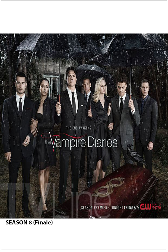 Vampire Diaries SEASON 8 Completed [2009 – Current USA Series]
