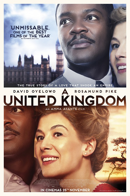 A United Kingdom [2016 USA, UK & Czech Republic Movie] Drama, Biography, True Story, Romance